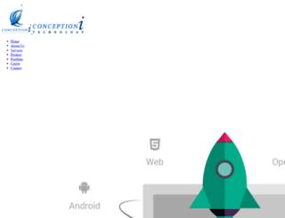 conceptioni.com screenshot