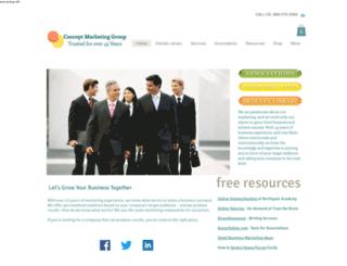 conceptmarketinggroup.interfirm.com screenshot