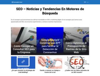 conceptoazul.com screenshot