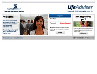 concern-eap.personaladvantage.com screenshot