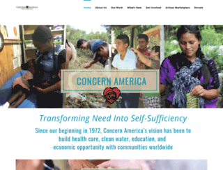 concernamerica.org screenshot