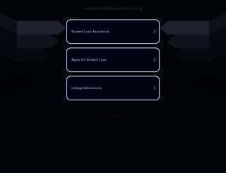 concernedafricascholars.org screenshot