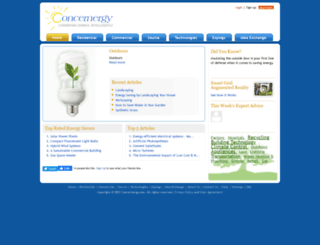 concernergy.com screenshot