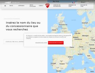 concessions.ducati.fr screenshot