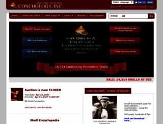 conchology.be screenshot