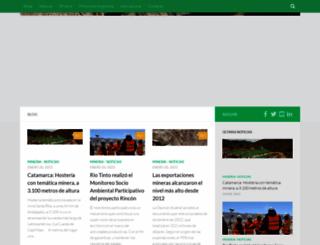 concienciaminera.com.ar screenshot