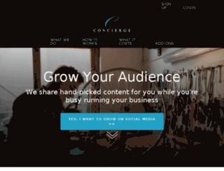 concierge.dlvrit.com screenshot