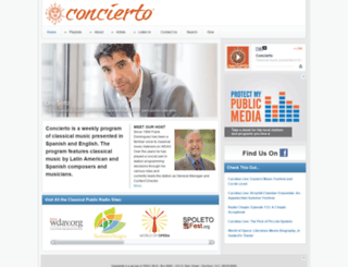 concierto.org screenshot