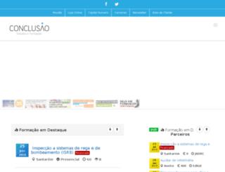 conclusao.com screenshot