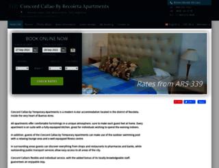 concord-callao-apartments.h-rez.com screenshot