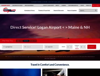 concordcoachlines.com screenshot