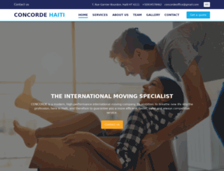 concordehaiti.com screenshot