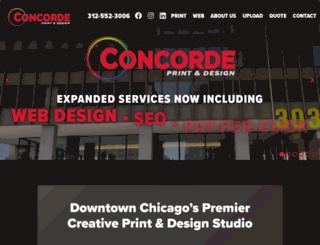 concordeprint.net screenshot