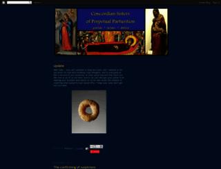 concordiansisters.blogspot.com screenshot