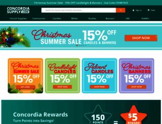 concordiasupply.com screenshot