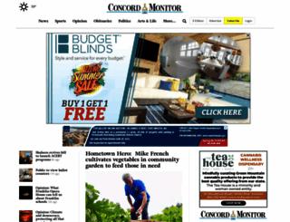concordmonitor.com screenshot