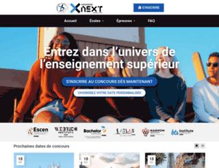 concours-next.fr screenshot