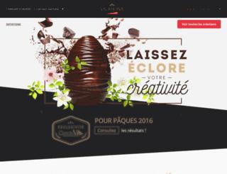 concours-paques.valrhona.com screenshot