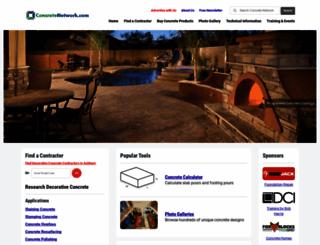 concretenetwork.com screenshot