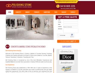 concretepolished.com.au screenshot