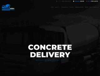 concretesales.com.au screenshot