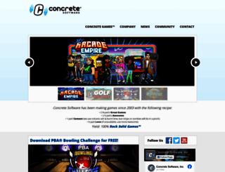 concretesoftware.com screenshot
