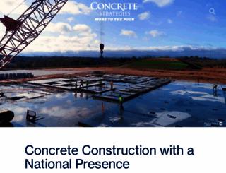 concretestrategies.com screenshot