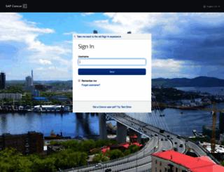 concursolutions.com screenshot