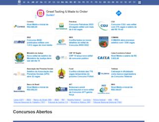 concursos.com.br screenshot