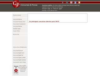 concursoseprovas.com.br screenshot