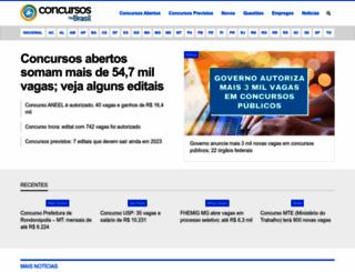 concursosnobrasil.com.br screenshot