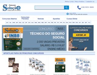 concursosolucao.com.br screenshot