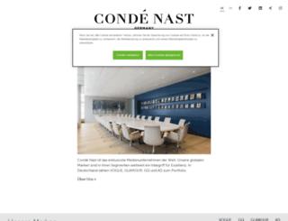 conde-nast.de screenshot