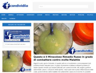 condividilo.org screenshot