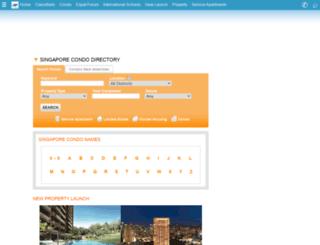 condo.singaporeexpats.com screenshot