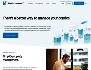 condomanager.com screenshot
