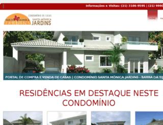 condominiosantamonicajardins.com screenshot