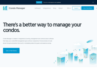 condominiumsoftware.com screenshot