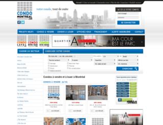 condomontreal.com screenshot