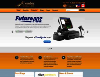 condorpossolutions.com screenshot