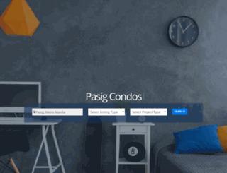 condospasig.com screenshot