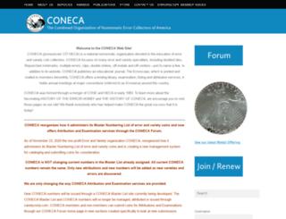 conecaonline.org screenshot
