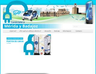 conectateameridaybadajoz.es screenshot