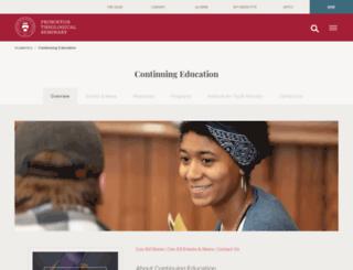 coned.ptsem.edu screenshot