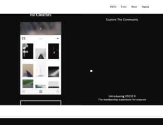 conesa.vsco.co screenshot