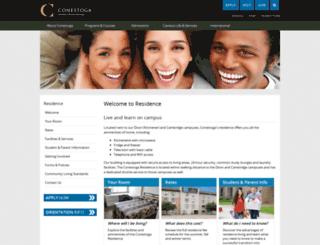 conestogarez.ca screenshot