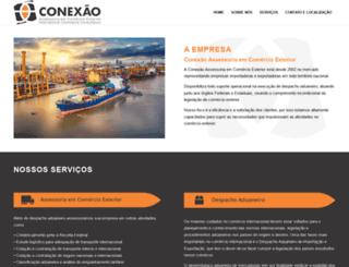 conexaocomex.com.br screenshot