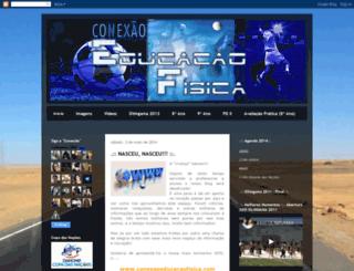 conexaoeducacaofisica.blogspot.com screenshot