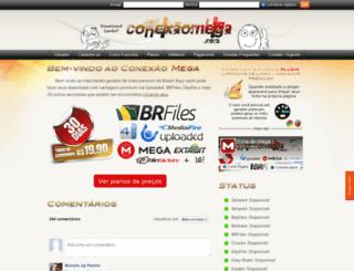 conexaomega.com screenshot