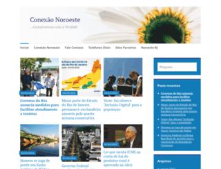 conexaonoroeste.wordpress.com screenshot